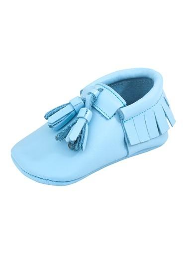 Moots Moots Bebek Mavisi Püsküllü Ayakkabı Mavi